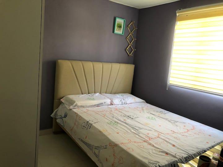 habitacion agradable y experiencia agradable.