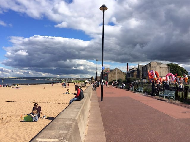 Place by the seaside (Room 2) - Edinburgh - Daire