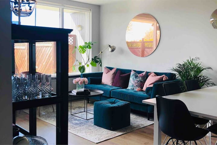 Cozy and bright apartment in central Reykjavík!
