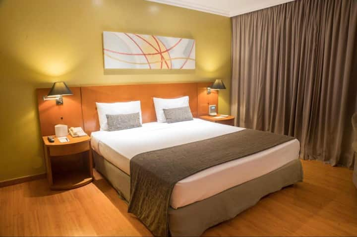 flat na barra da Tijuca,conforto e boa localização