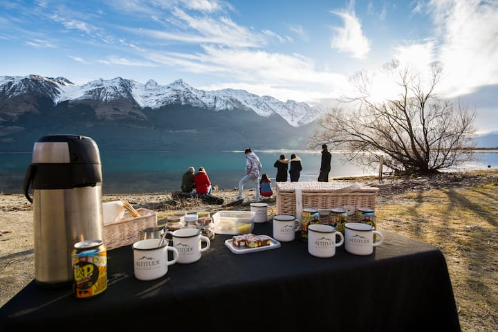 Kiwi picnic in Glenorchy
