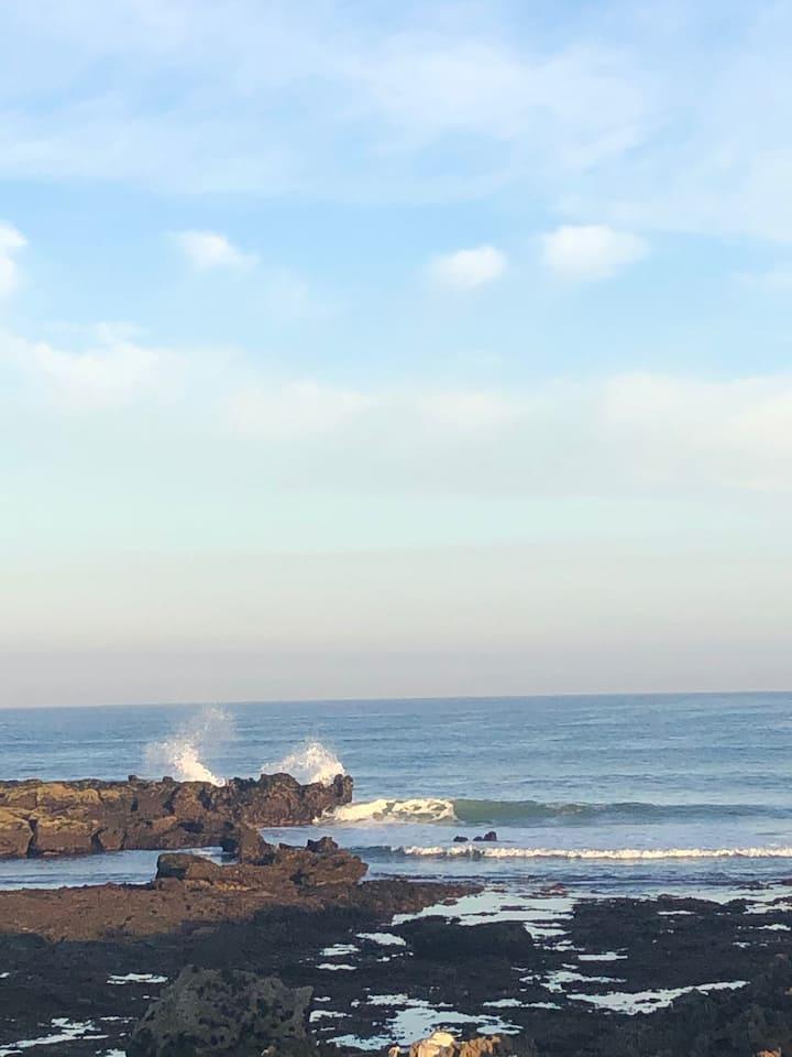 Appartement accès direct plage location annuelle