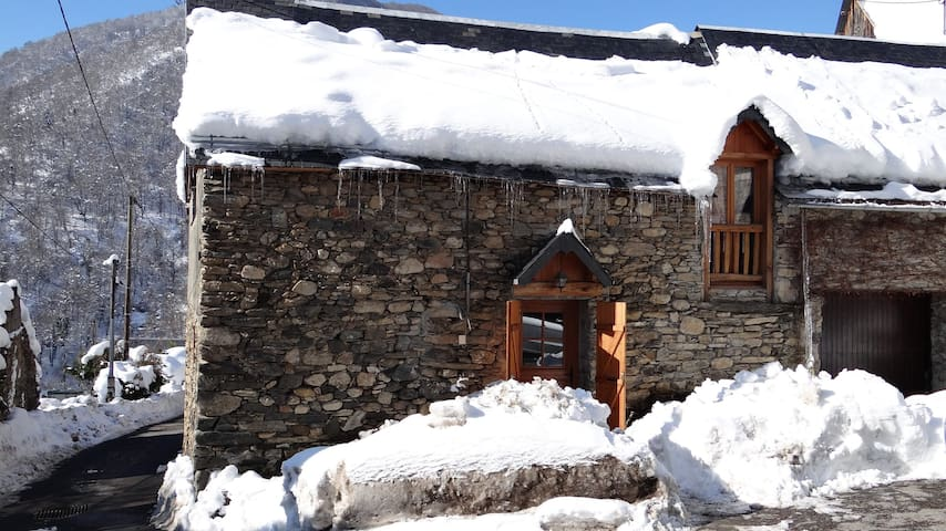 grange rénovée proche de Bagnères de Luchon - Binos - Flat