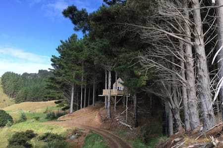 Raglan Treehouse in the Woods - Raglan