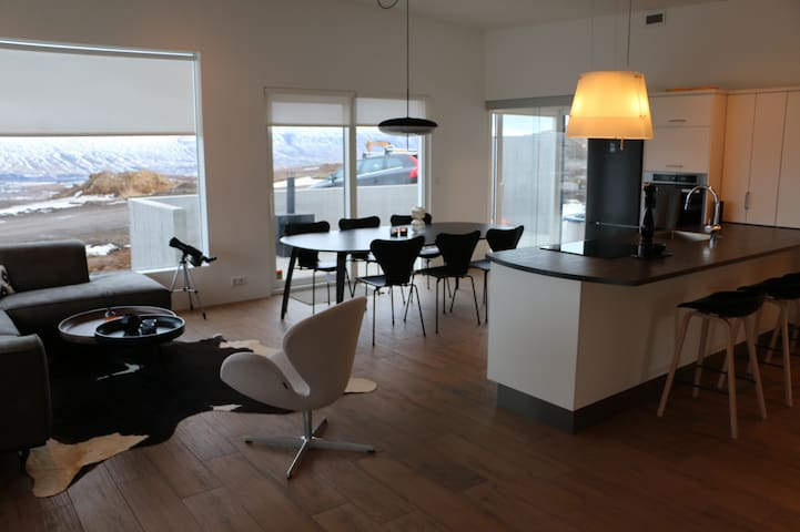 Luxury cottage in the North of Iceland - Akureyri