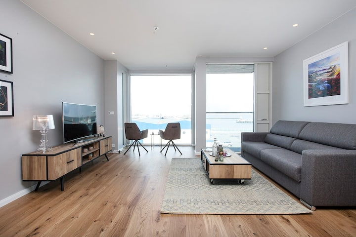 Center apartment - view over the old harbour!
