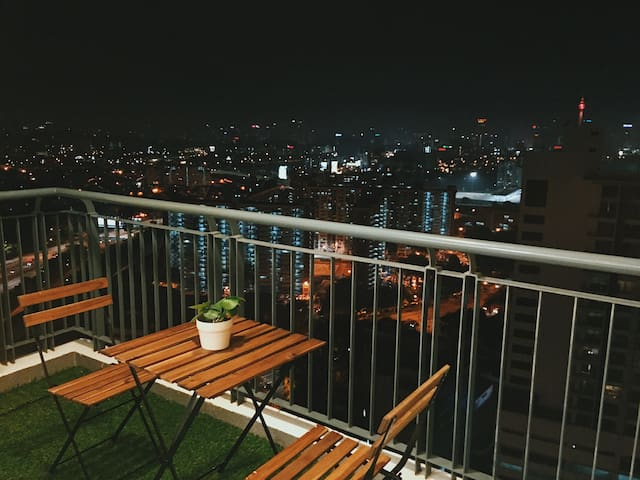 New 4bedroom Luxury Condo with Amazing KL View - Kuala Lumpur - Apartamento