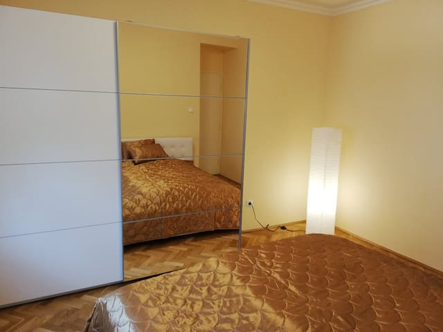 Well-equipped apartment close to downtown Vác