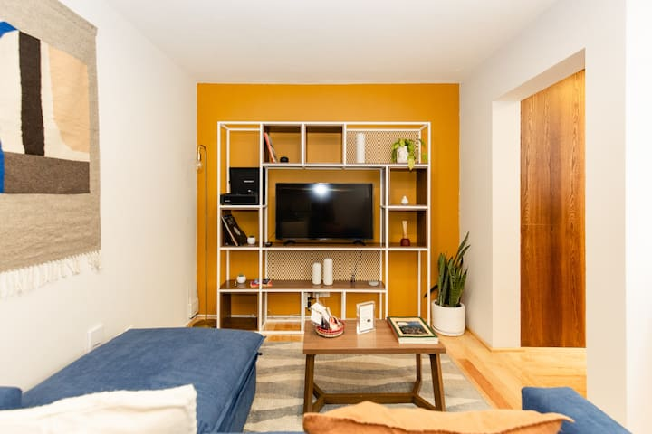 2br Apt. in the Liveliest Area of the City.