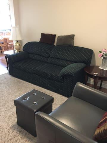 One bedroom efficiency unit
