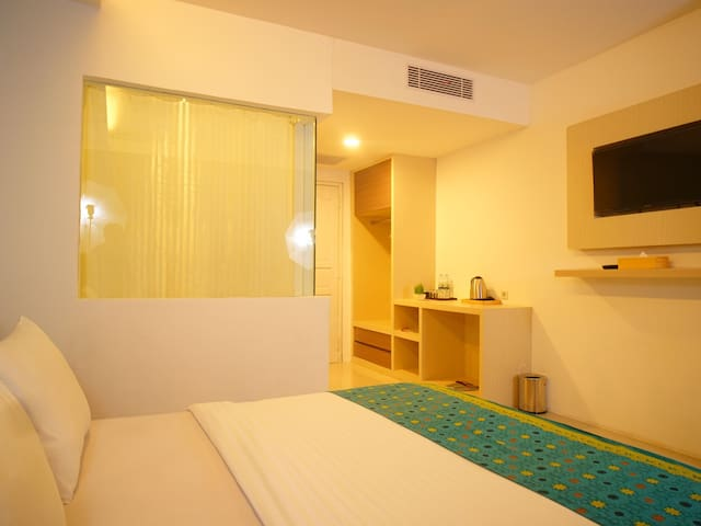 Decent Deluxe Double Stay in Palembang- Hotel Princess