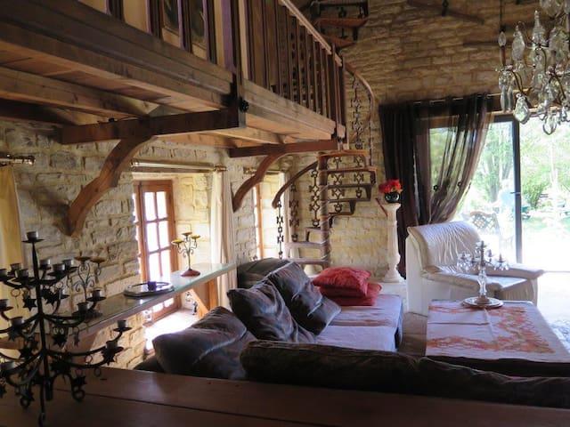 Moulin de charme en Champagne - Juvancourt - Dům