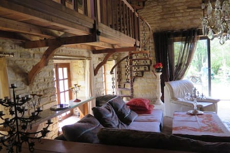 Moulin de charme en Champagne - Juvancourt - Huis