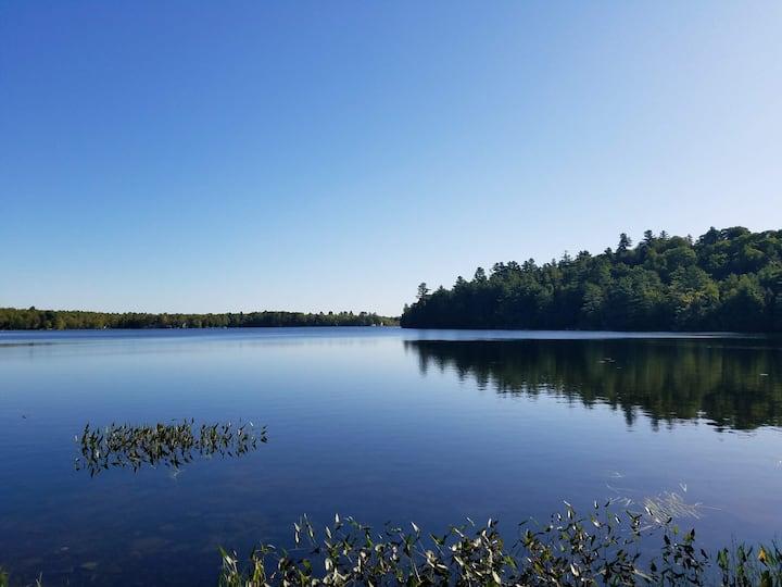 Lakefront Maine Camp (year round)