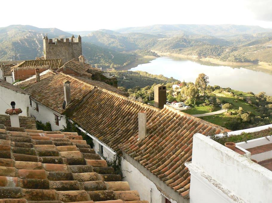 Pueblo medieval muy romantico