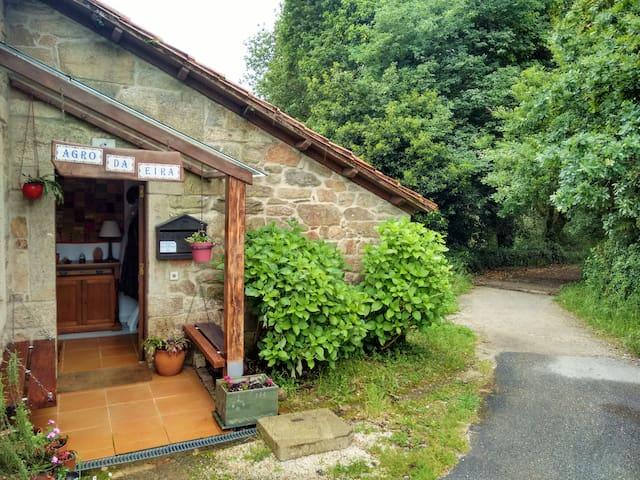 """Un guiño a la esencia rural: """"O agro da eira"""" - Santiago de Compostela - Bed & Breakfast"""