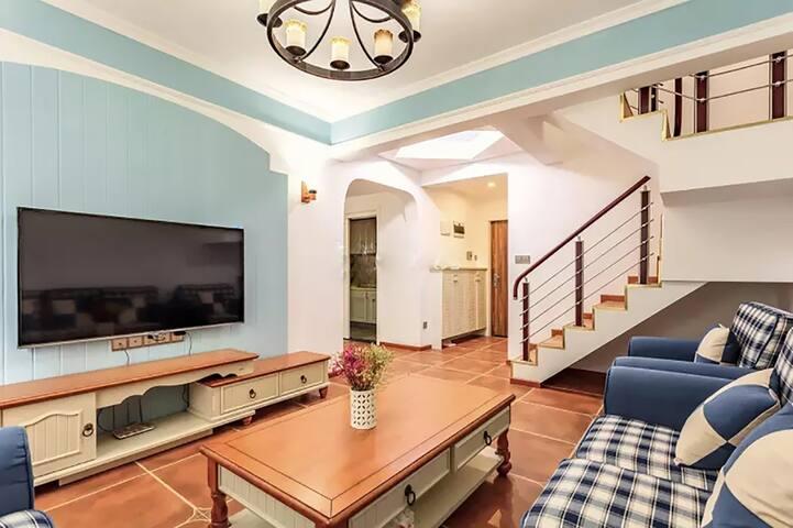 地中海整套  小皮匠与摄影师的小窝 loft - Chongqing - Apartamento