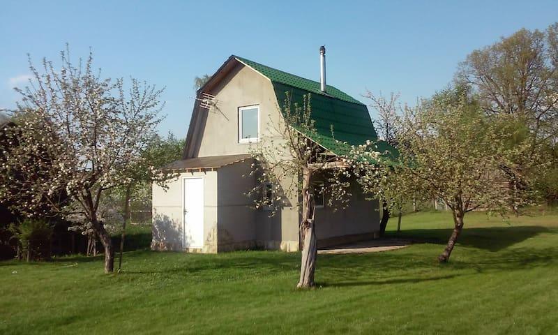 Дом на берегу озера - Lepiel - House