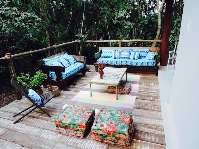 Casa do Bosque-Refúgio em Bonito - Bonito - House
