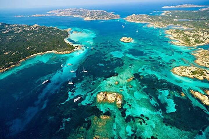 Terrazza Su Caprera all'isola di La Maddalena - Moneta