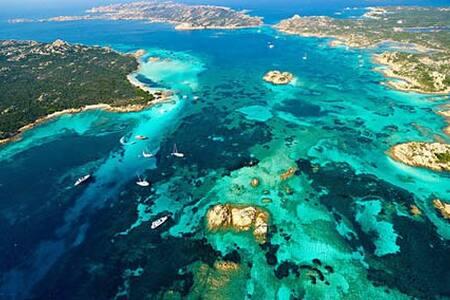 Terrazza Su Caprera all'isola di La Maddalena - Moneta - Rumah