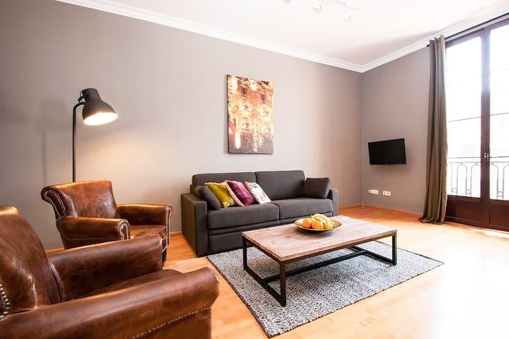 Passeig de Gracia Apartment (2 bedrooms with WIFI)