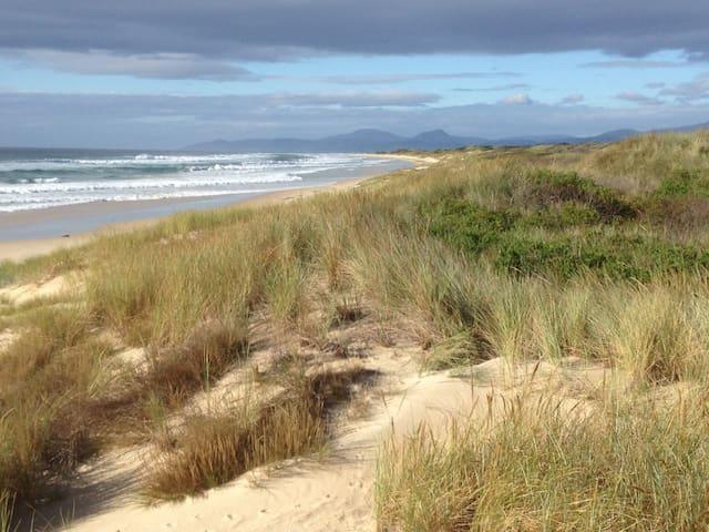 Marouard Beach,  10 minute walk from Narringa