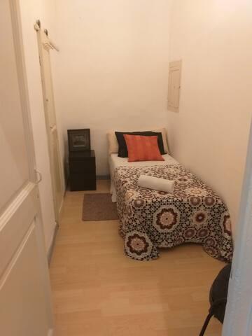 Habitación confortable y calida.