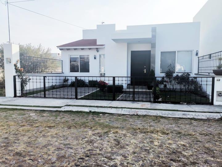 Hermosa casa en Tequisquiapan.