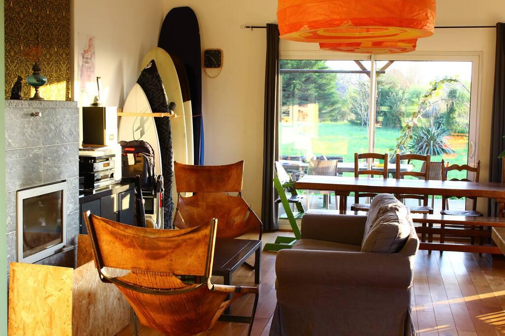 Maison confortable et lumineuse
