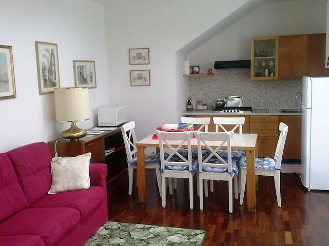 "Holiday home with Wi-Fi ""MAMMA MIA"" Treviso/Venice - Тревизо - Квартира"