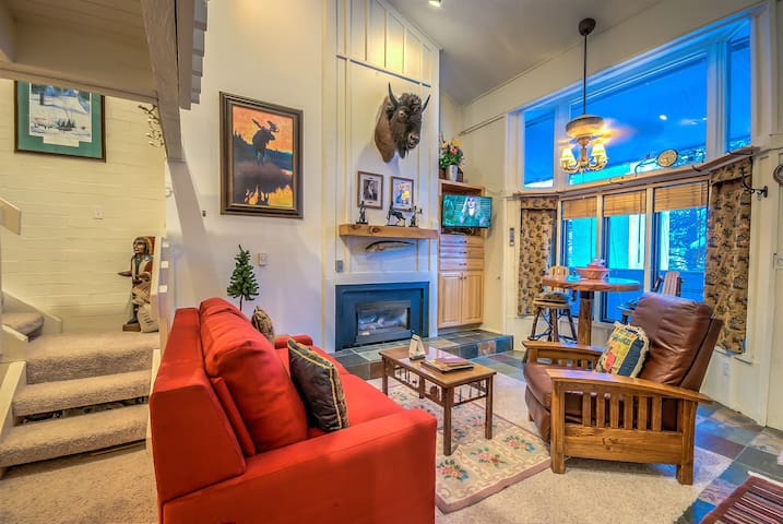Beautifully Remodeled Condo Located Next To Steamboat Resort! -  Ski Time Square 208