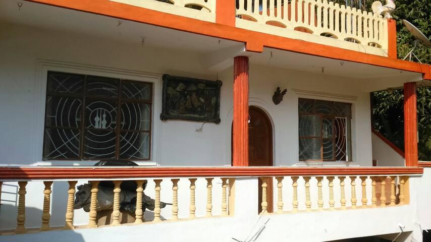 Spacious studio apartment at Baga