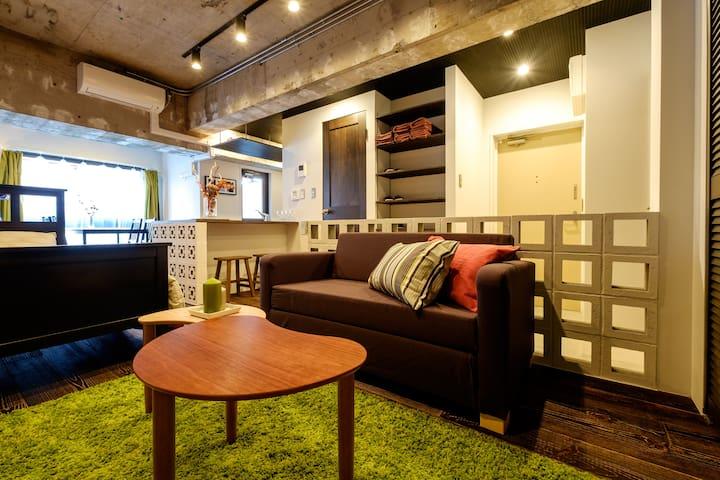 New renovated room in Shinjuku/ Pocket Wifi