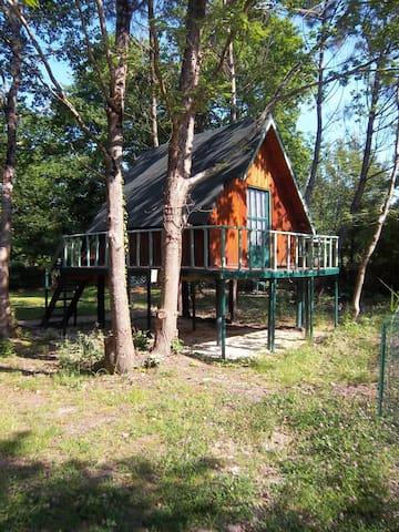 Cabane canadienne - Royan - Kabin