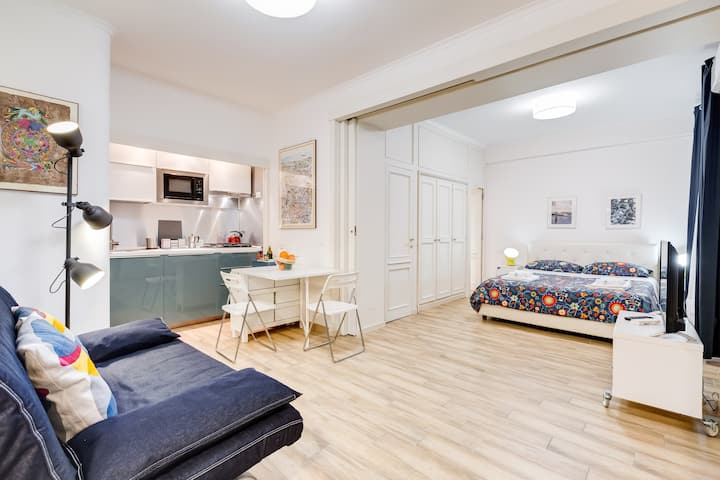 STUDIO APT WITH PARKING BESIDE VATICAN MUSEUMS