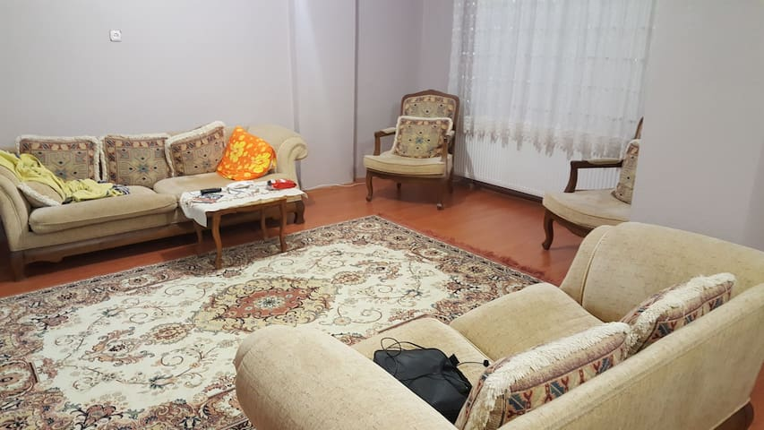 Cozy and big flat near to city center