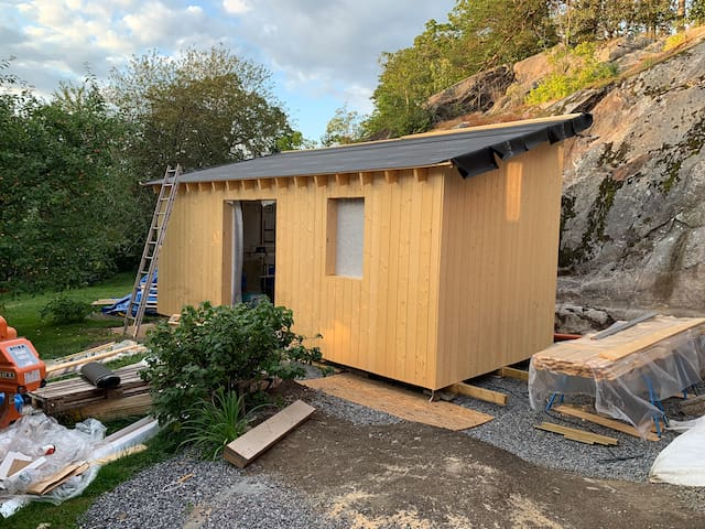 Tiny house in the garden (finished in may 2020)