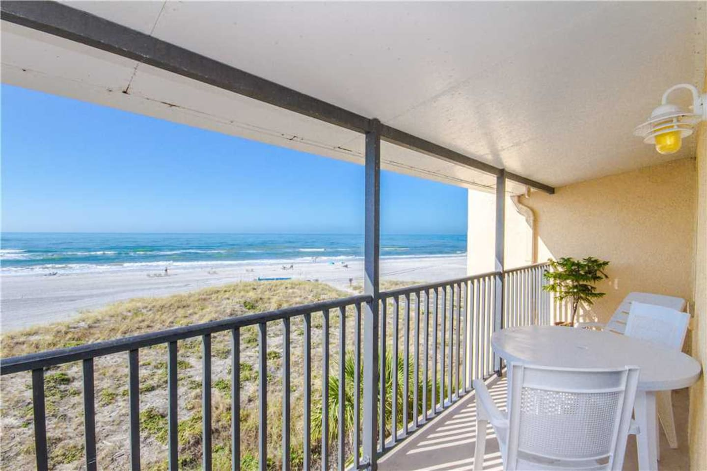 Direct Beach & Gulf Views from Covered Balcony Granite Kitchen & Upgrades Throughout - Sleeps 4 - Free Wifi - #349 Surf Song Resort