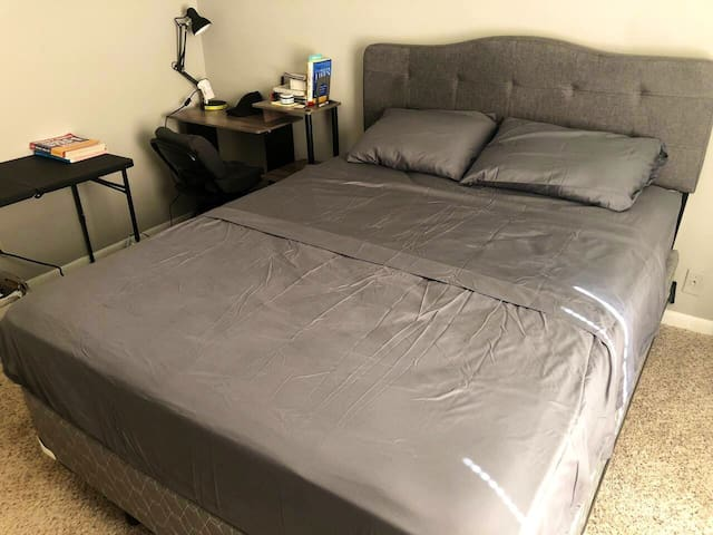 Sleep easy Summer nights. Private bedroom comfort
