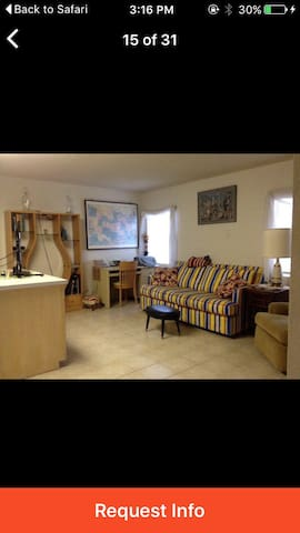 Large Apartment / private entrance - 伊薩貝爾港(Port Isabel) - 公寓