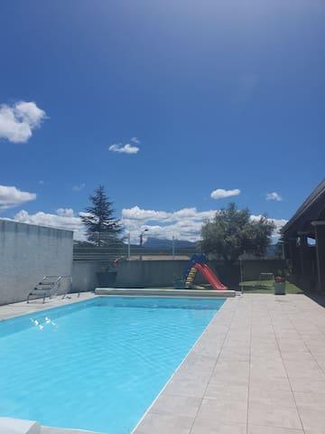 Villa exceptionnelle de 200m2 avec 2 piscines