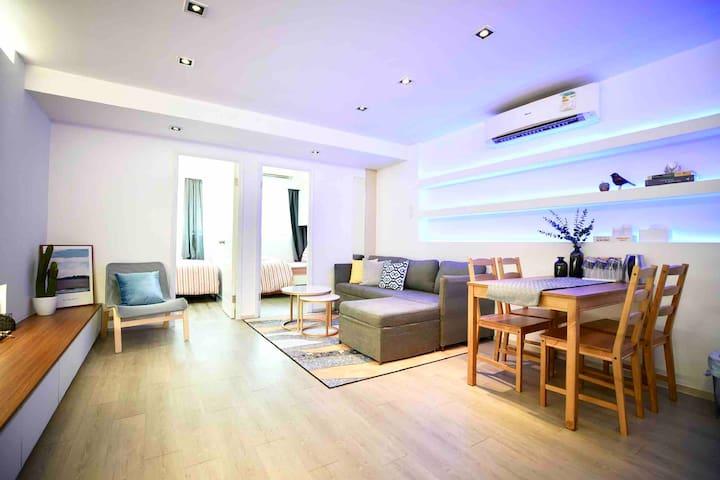 Luxury modern designer apartment in Causeway Bay