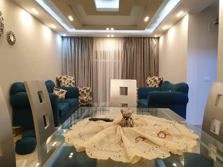 Unique apartment in quiet area at Madinaty city