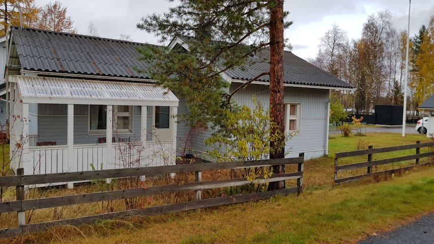 Small house near by lake for 1-7 persons
