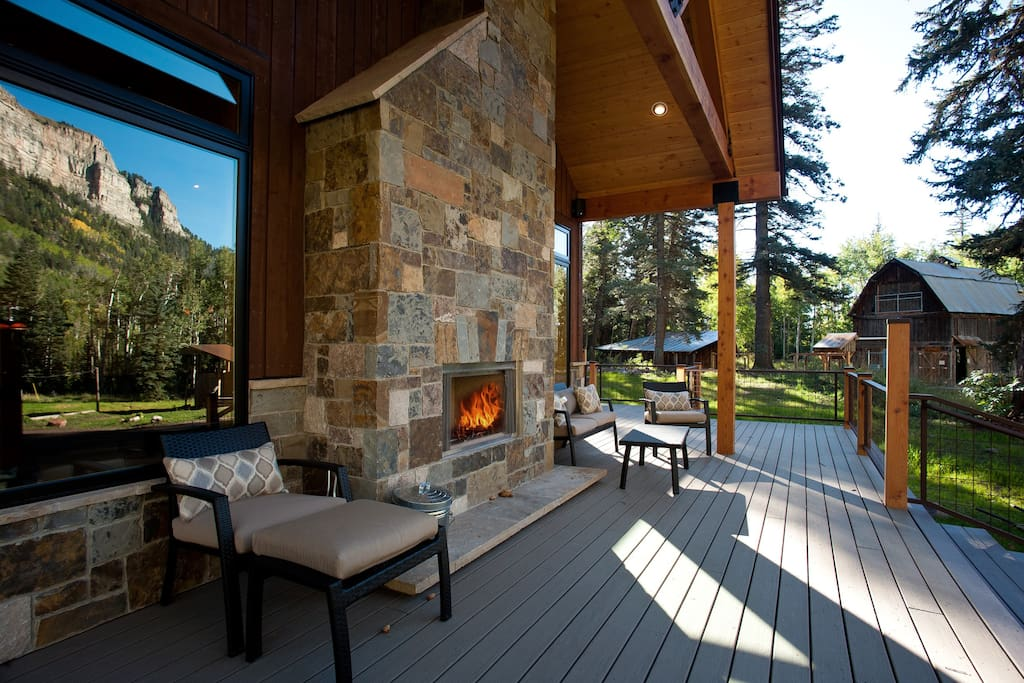 Luxurious mountain retreat irma j ranch houses for rent for Colorado fishing lodges
