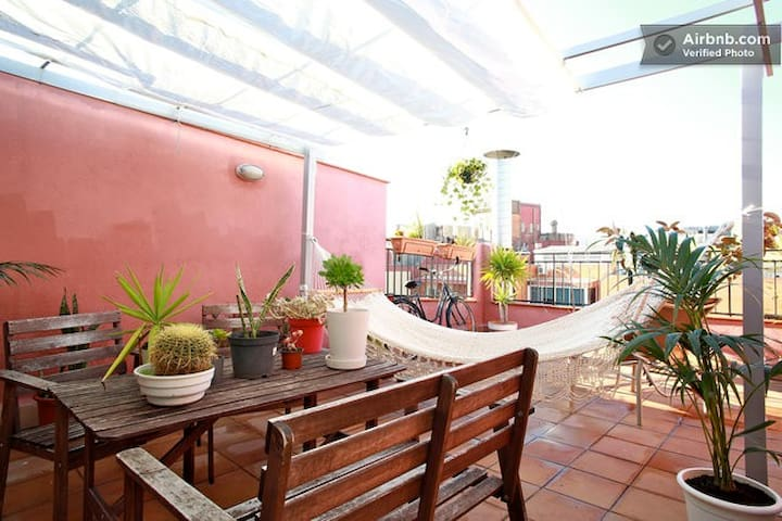New 2 Sunny mediterranean apartment - Barcelona - Lägenhet