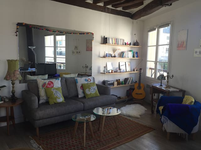 Welcoming and stylish one bedroom appartment - París - Departamento