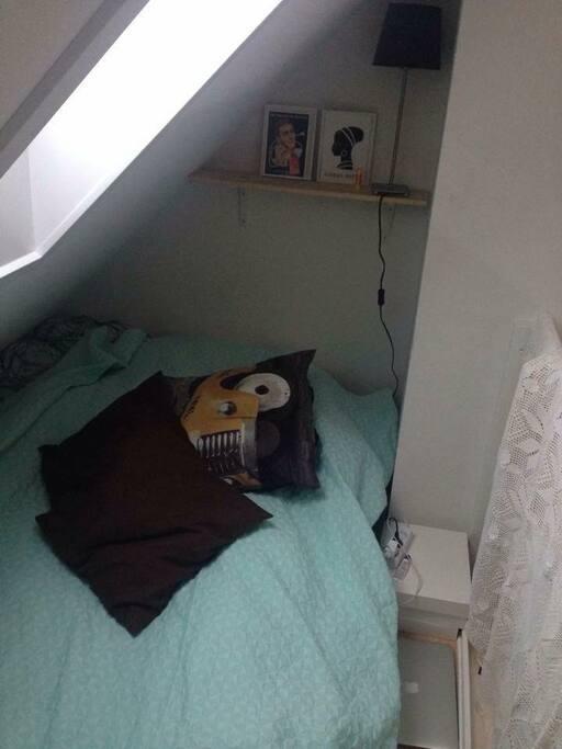 Soverum på hemsen