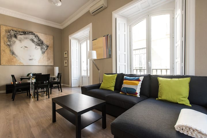 Bonito y luminoso apartamento Plaza de San Pedro